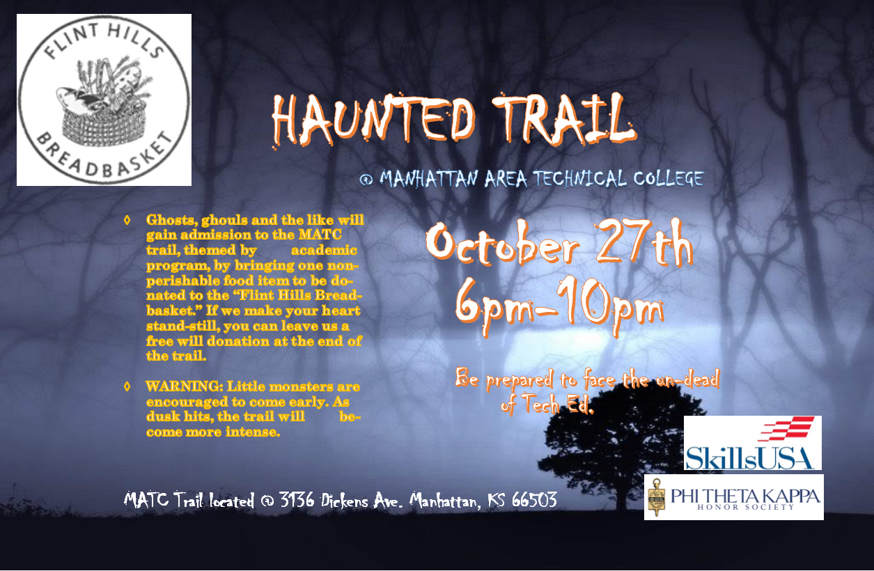 Haunted Trail Flyer